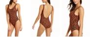Calvin Klein Deep U-Back One-Piece Swimsuit