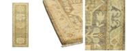 "Timeless Rug Designs One of a Kind OOAK1001 Flax 2'9"" x 7'10"" Runner Rug"