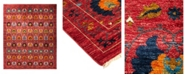 """Timeless Rug Designs CLOSEOUT! One of a Kind OOAK1790 Raspberry 12'1"""" x 15' Area Rug"""