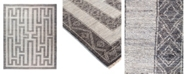 "Timeless Rug Designs One of a Kind OOAK1837 Mist 8'3"" x 9'10"" Area Rug"