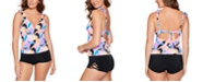 Salt + Cove Juniors' Push-Up Tankini Top & Swim Shorts, Created For Macy's