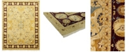 """Timeless Rug Designs CLOSEOUT! One of a Kind OOAK129 Flax 9'3"""" x 12'4"""" Area Rug"""