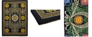 """Timeless Rug Designs CLOSEOUT! One of a Kind OOAK188 Onyx 8'10"""" x 12'5"""" Area Rug"""