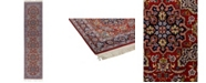 """Timeless Rug Designs CLOSEOUT! One of a Kind OOAK609 Cherry 2'8"""" x 10'10"""" Runner Rug"""