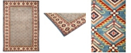 """Timeless Rug Designs CLOSEOUT! One of a Kind OOAK702 Rust 4'10"""" x 7' Area Rug"""