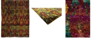 """Timeless Rug Designs CLOSEOUT! One of a Kind OOAK2652 Raspberry 7'10"""" x 10'5"""" Area Rug"""