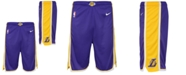 Nike Big Boys Los Angeles Lakers Statement Swingman Shorts