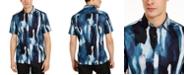 INC International Concepts INC Men's Big & Tall Watercolor Drip Shirt, Created For Macy's