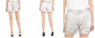 INC International Concepts INC Shiny Belted Shorts, Created For Macy's
