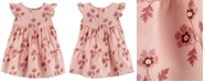 Carter's Baby Girls Floral-Print Tiered Ruffle Dress