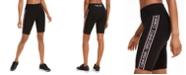 Calvin Klein High-Rise Logo Bike Shorts