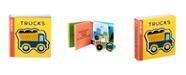 Melissa and Doug Melissa Doug Children's Book - Soft Shapes: Trucks Foam First Puzzle Book