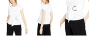 INC International Concepts INC Petite Cotton Belted Top, Created for Macy's