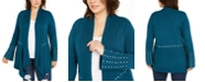 INC International Concepts INC Plus Size Studded Cardigan Sweater, Created for Macy's