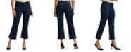 Lucky Brand Mid Rise Cropped Jeans