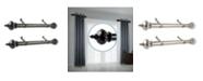 "Rod Desyne Imperial 1.5"" Side Curtain Rod 12-20"" (Set of 2)"