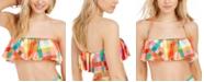 kate spade new york Ruffled Bandeau Bikini Top
