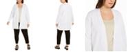 Eileen Fisher Plus-Size Cardigan