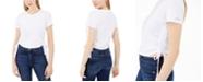 Calvin Klein Jeans Cotton Ruched Side-Tie T-Shirt