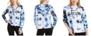 Calvin Klein Logo Tie-Dyed Hoodie