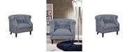 Us Pride Furniture Willisville Barrel Chair