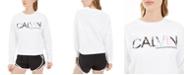 Calvin Klein Printed-Logo Sweatshirt