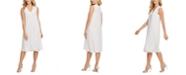 DKNY Cotton Mixed-Media Dress