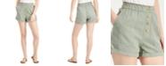 Vanilla Star Juniors' Cuffed Paperbag Shorts