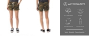 Alternative Apparel Lounge Printed Burnout French Women's Terry Shorts