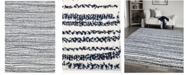 """Palmetto Living Cotton Tail Knitted All Over Neutral 5'3"""" x 7'6"""" Area Rug"""