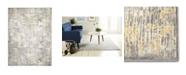 """Global Rug Designs Barstow Bar02 Gray 5'2"""" x 7'2"""" Area Rug"""