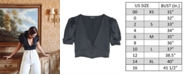 Danielle Bernstein Cropped Puff-Sleeve Top, Created for Macy's