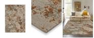 "Karastan Elements Brockway Grey 5'3"" x 7'10"" Area Rug"