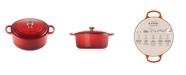 Le Creuset 9-Qt. Signature Enameled Cast Iron Round Dutch Oven