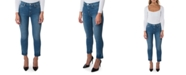 Hudson Jeans Barbara Straight-Leg Ankle High-Rise Jeans