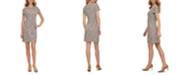 Calvin Klein Ponte Shift Dress