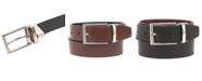 Alfani Men's Reversible Faux Leather Belt, Created for Macy's