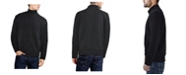 X-Ray  Men's Full-Zip High Neck Sweater Jacket