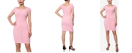 Planet Gold Juniors' Henley Bodycon Dress