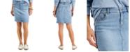 Style & Co Denim Mini Skirt, Created for Macy's