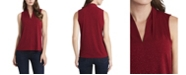 Vince Camuto Women's Sparkle Jersey Top