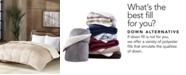 Premier Comfort Reversible Micro Velvet and Sherpa Down Alternative Comforters, Hypoallergenic