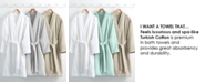 Hotel Collection Waffle Weave Robe, 100% Turkish Cotton, Created for Macy's