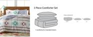 Pem America  Harper 3-Pc. Reversible Comforter Set, Created for Macy's