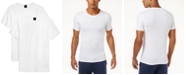 Hugo Boss BOSS Men's 2 Pack Crew Neck Stretch Undershirts