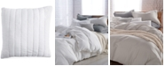 """DKNY PURE Quilted Voile 18"""" Square Decorative Pillow"""