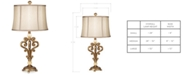 Kathy Ireland Pacific Coast Traditional Scroll Table Lamp