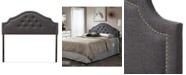 Furniture Cora Upholstered Full Size Headboard