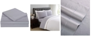 Charisma CLOSEOUT! Classic Cotton Sateen 310 Thread Count 4-Pc. Dot Queen Sheet Set