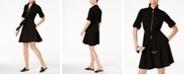 Michael Kors Belted Shirtdress, In Regular and Petite